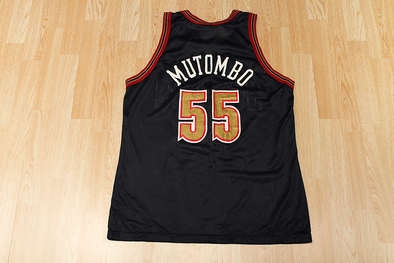 separation shoes 97d9b ca993 Dikembe Mutombo Nuggets Jersey from SLAM! Vintage