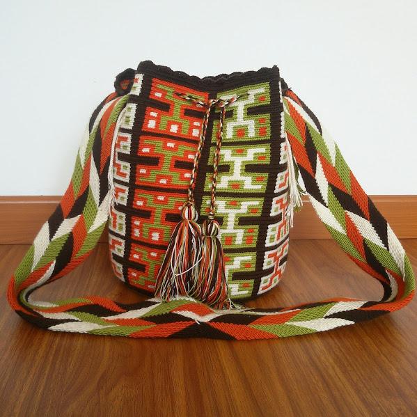 40659482e6f Wayuu Mochila Bag on Storenvy