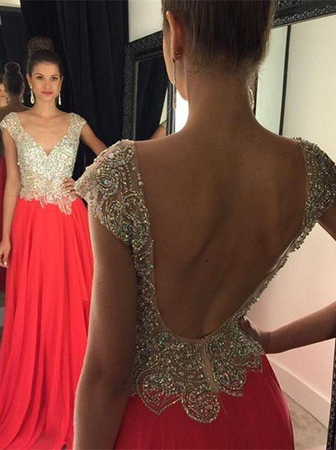 Low Back Evening Dresses