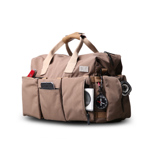 Large Canvas Messenger Slr Dslr Camera Bag With Rain Cover