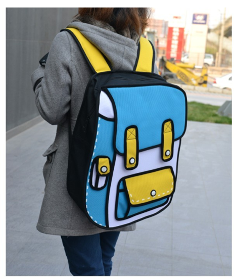 Free Delivery For The Most Cute 3D Cartoon Backpack In