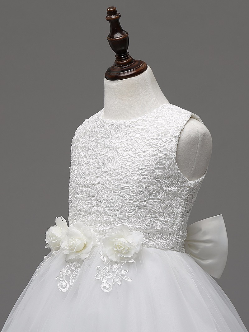 2c4abdb0d Real Romantic flower girl dress for party and wedding kids clothes ...
