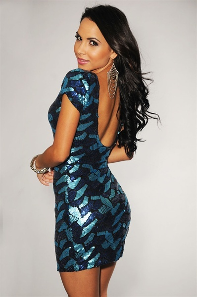 326ac361 Blue Sequin Dress · STYLIST · Online Store Powered by Storenvy