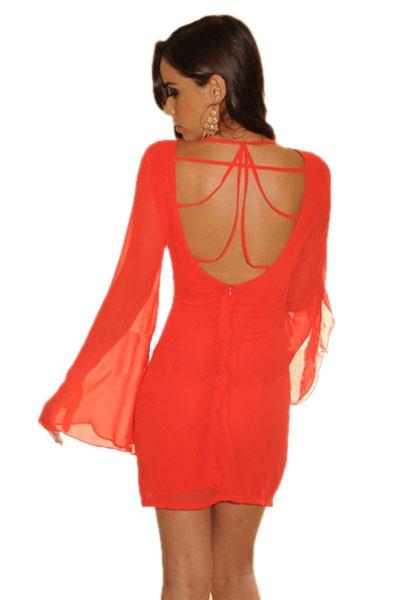 5f8c6823 Red Chiffon Dress · STYLIST · Online Store Powered by Storenvy