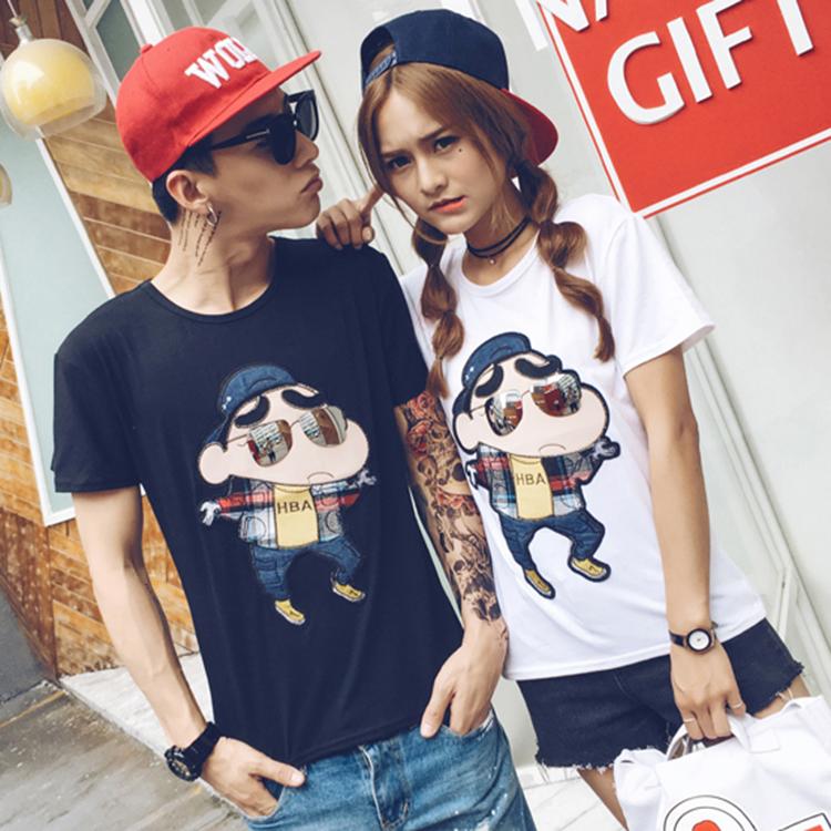 cb5b5bb1c49 Women Kawaii Grunge tumblr outfit anime girl blogger fashion Shin chan hipster  tee tops t-shirt on Storenvy