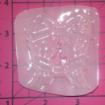 Flexible Mold Bride of Frankenstein Silhouette Resin Or Chocolate Mould