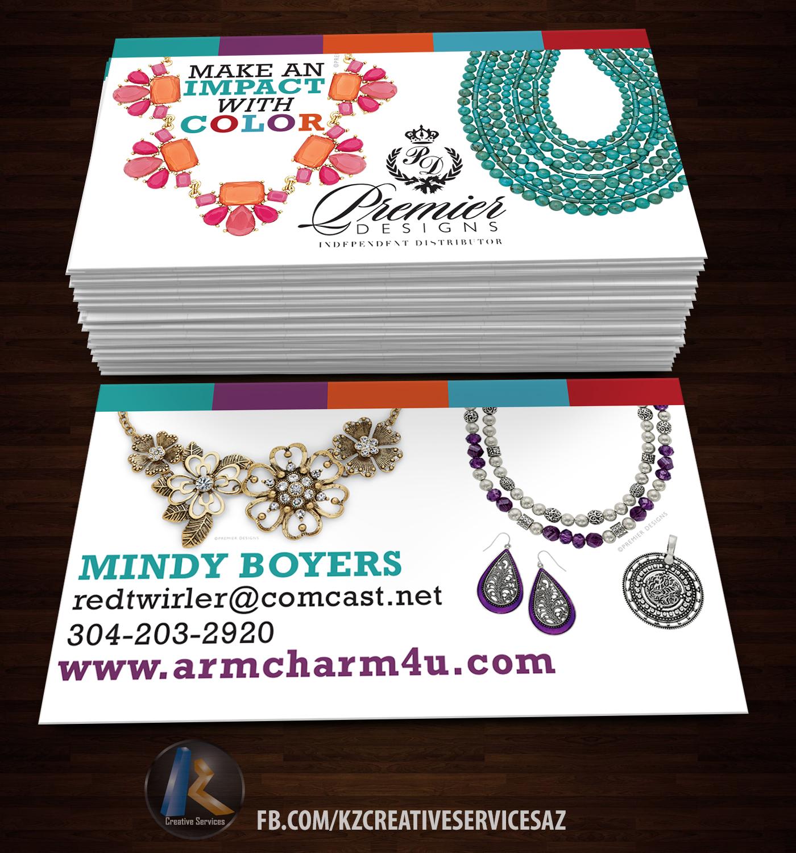 Premier Designs Business Cards Style Kz Creative Services