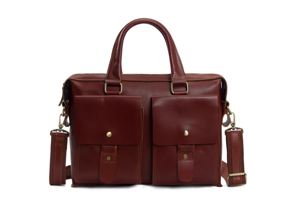 b980dfc45d3 14   UNISEX Genuine Leather Briefcase