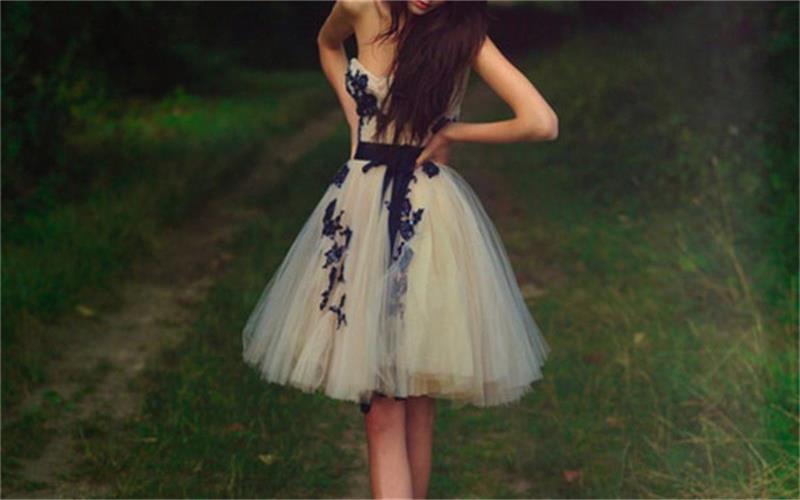 b4c63d5b05c Short Tulle Sweetheart Knee-Length Homecoming Dresses