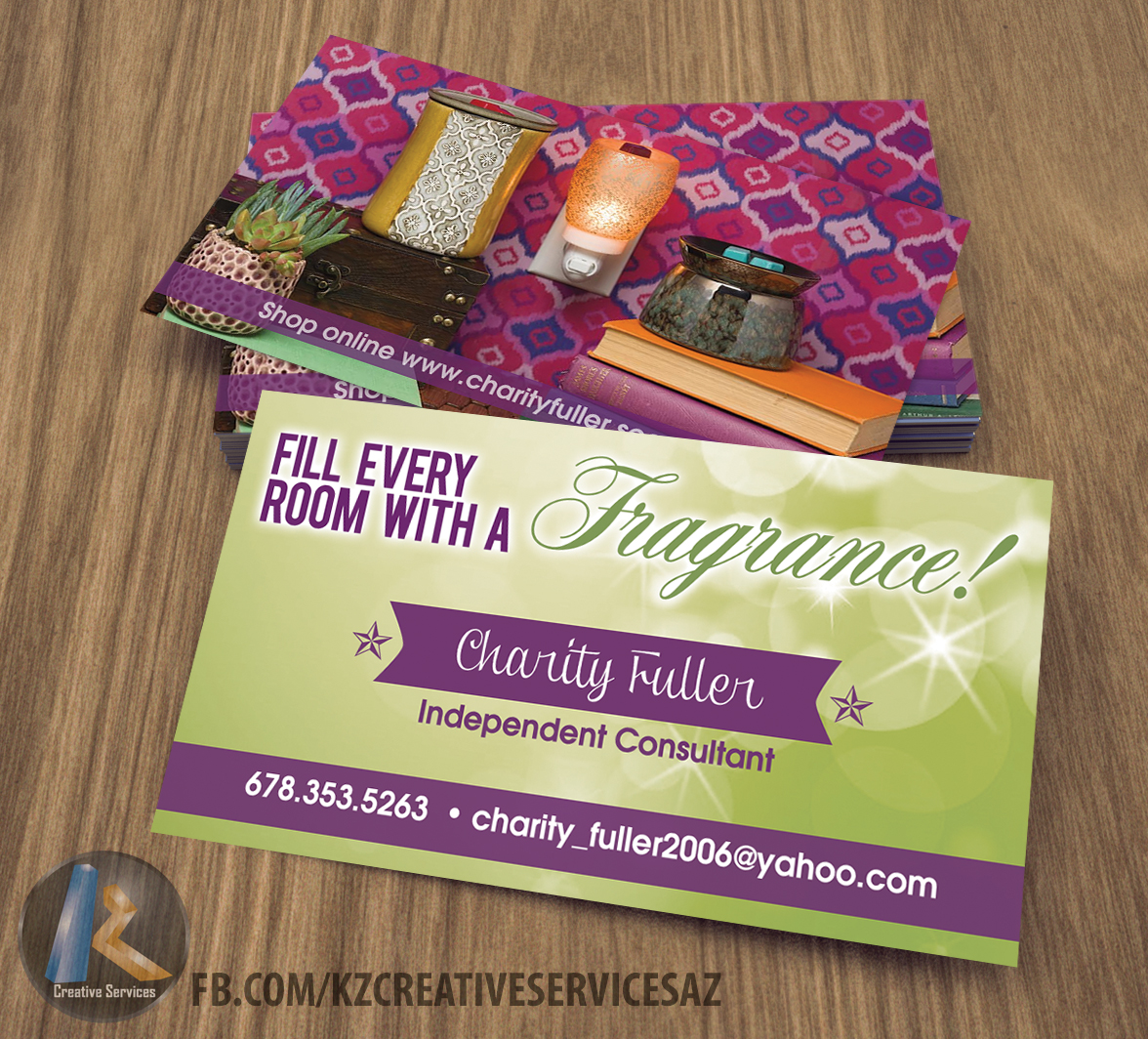 scentsy business cards style 1  u00b7 kz creative services