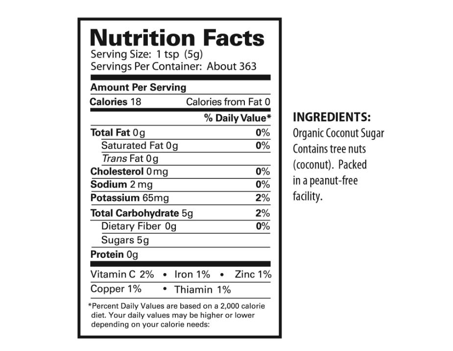 Tresomega Nutrition Organic Coconut Sugar (4 lb ) sold by Shop-it-2