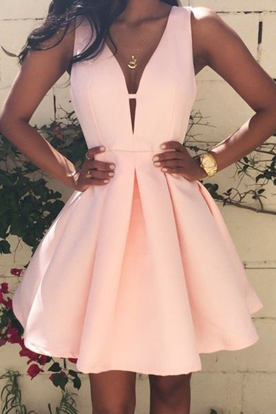 1803b1062619 Pink Homecoming Dresses, Short Homecoming Dresses ,Cute Homecoming Dresses,  Cheap Homecoming Dresses,