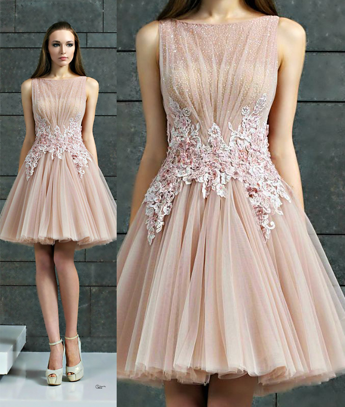 Short Prom Dress 2016 Prom Dress Junior Prom Dress Unique Prom