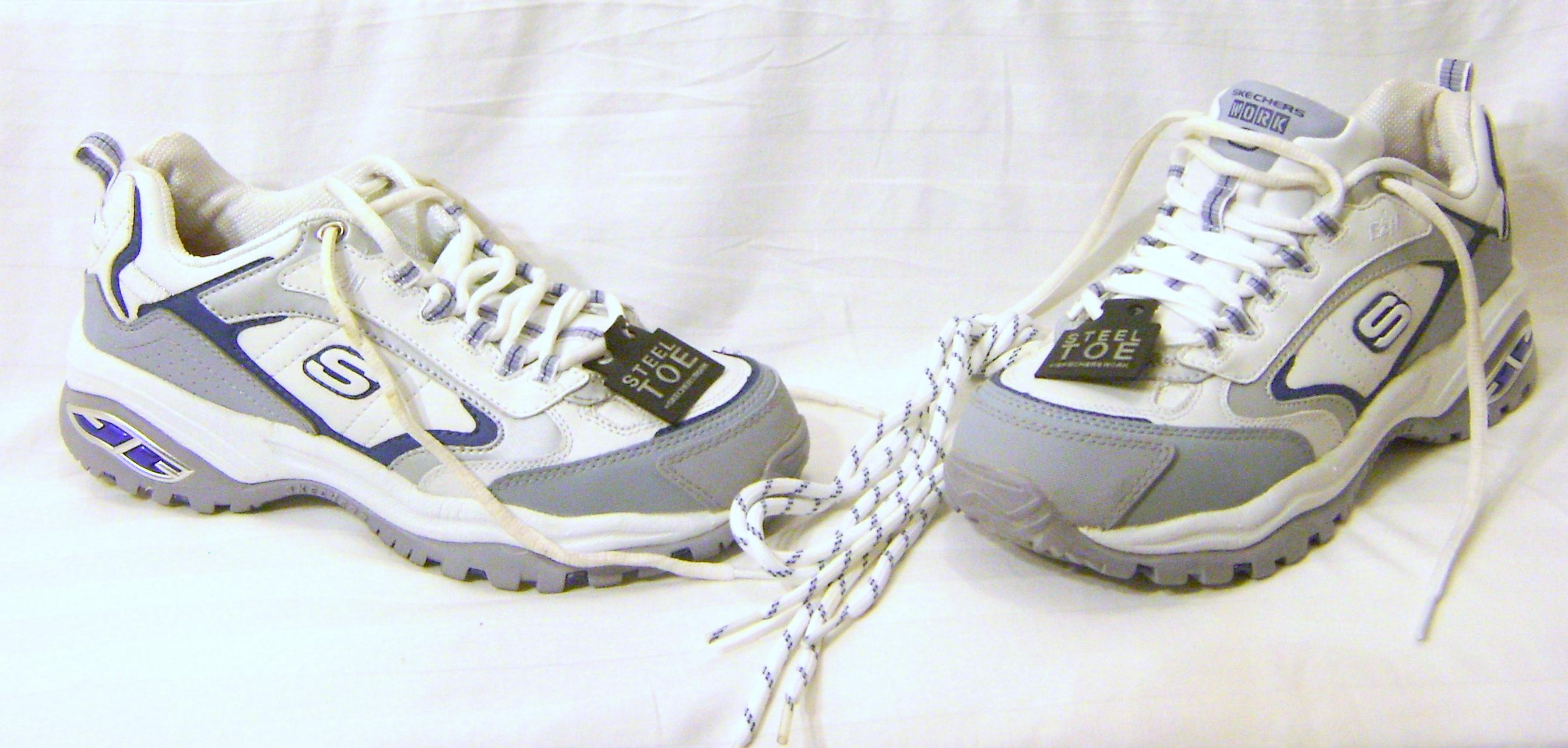 Women's Skechers Leather Work Sneakers