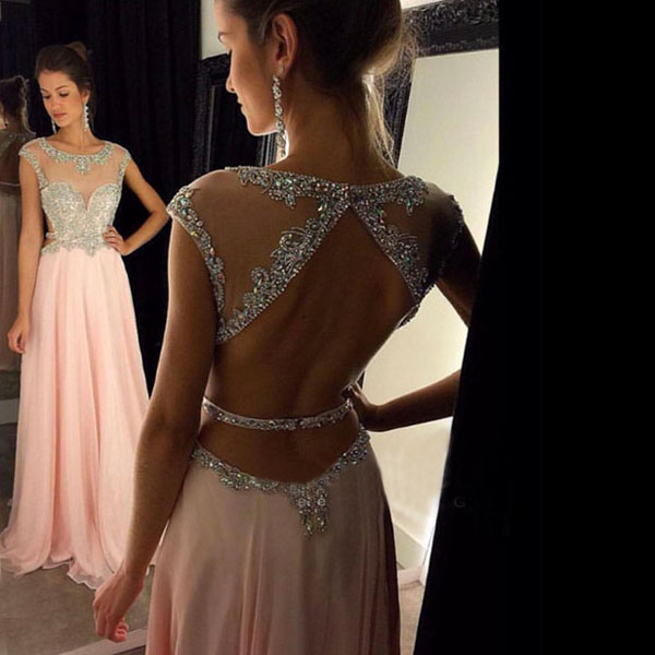 879cfa255a Backless prom dress
