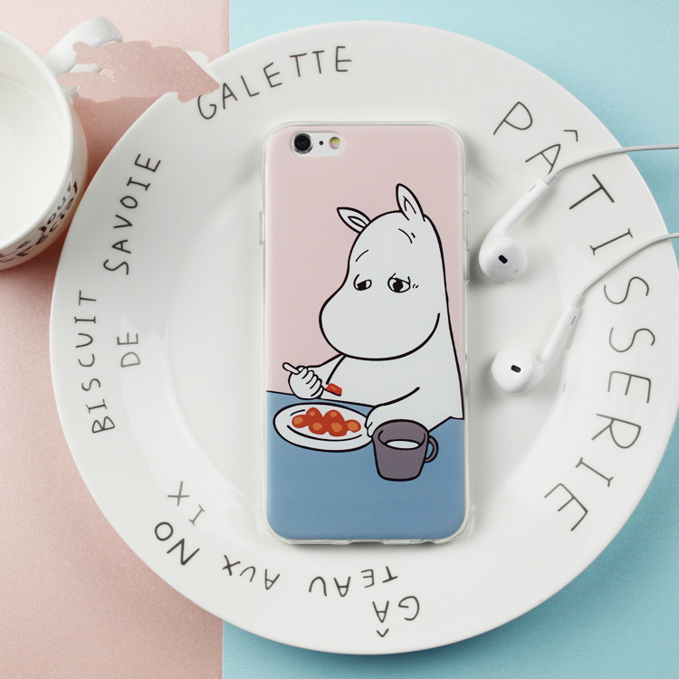 huge selection of f117f 8e5fd TIRED MOOMIN IPHONE CASE (5/5S/SE,6/6S,6+/6S+) from Shopgogogo
