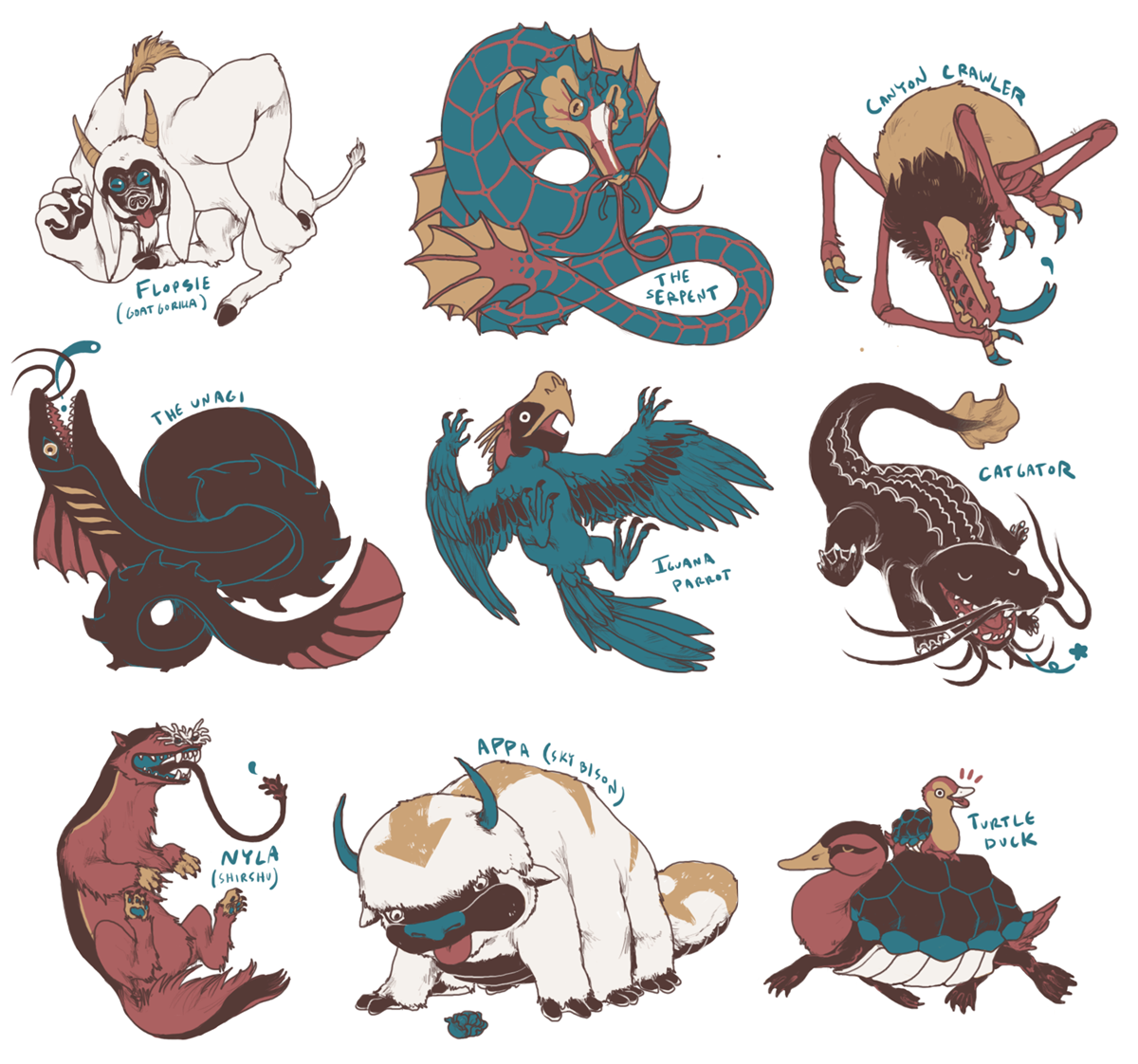 Avatar the last airbender animals  The Last Airbender   The