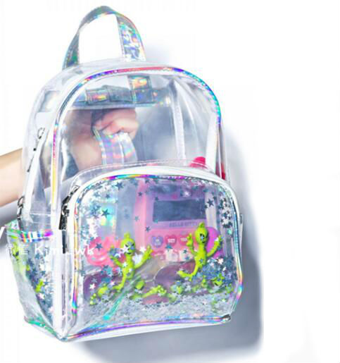 6ab108e71c Alien Transparent Backpack · Moooh!! · Online Store Powered by Storenvy