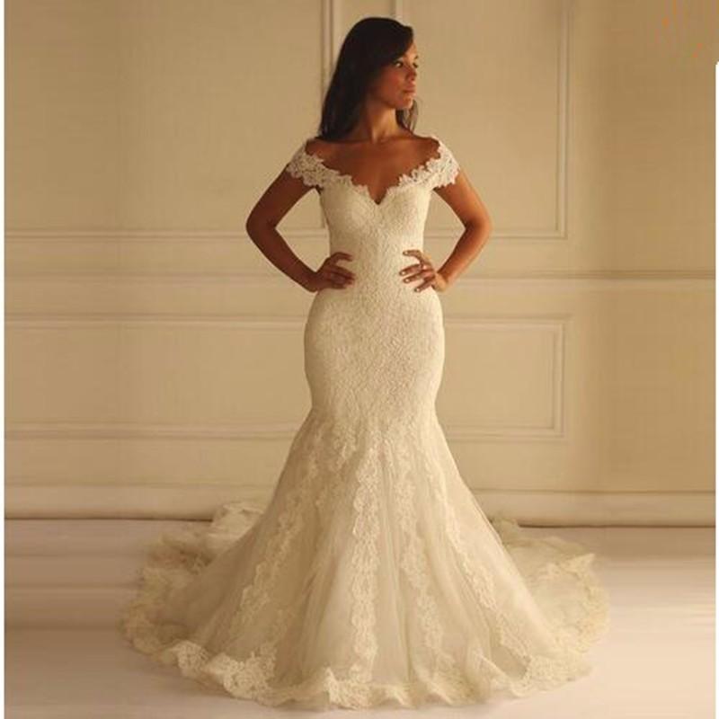Mermaid Lace Wedding Dresses pwd0021 on Storenvy