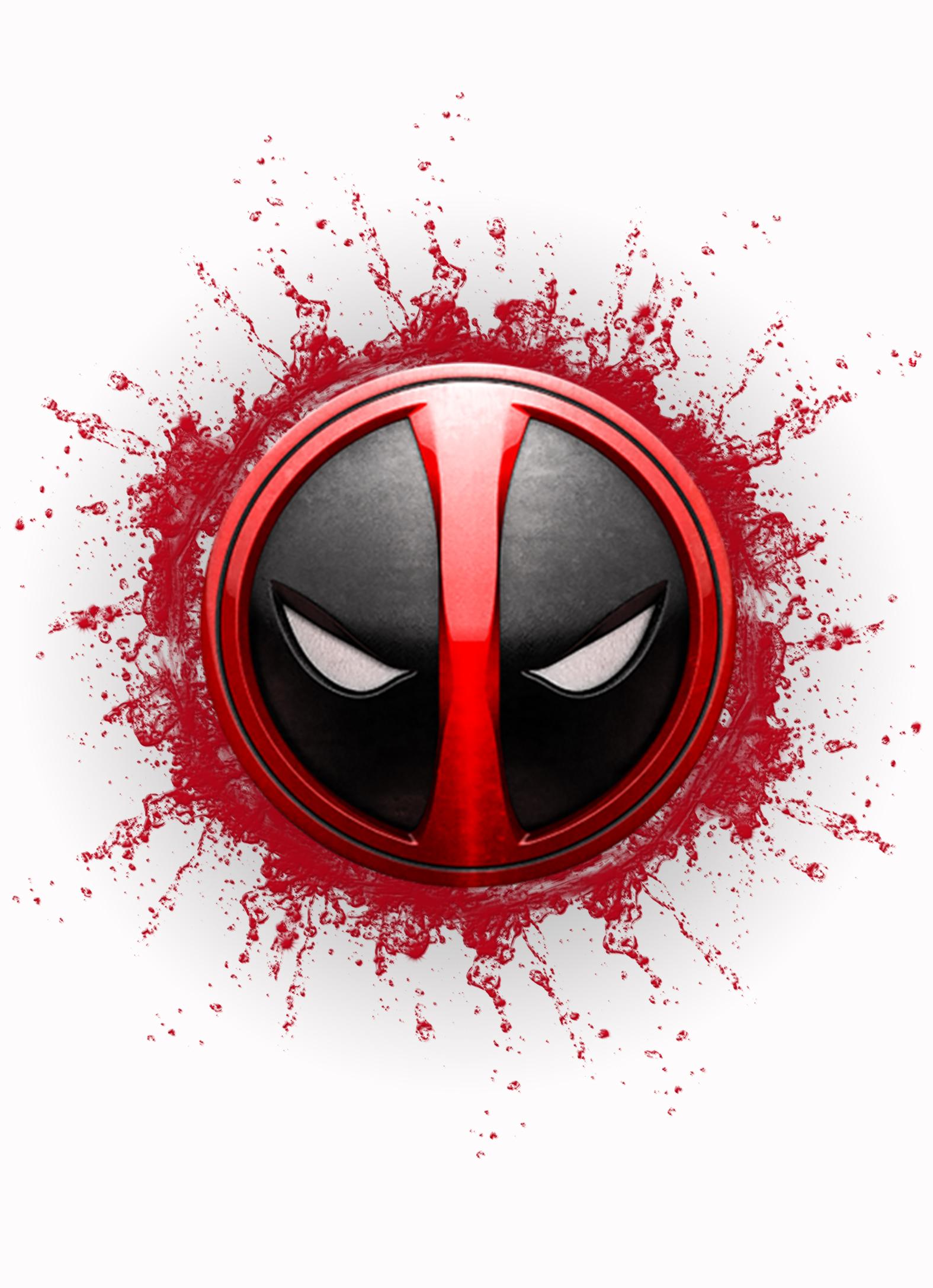 Deadpool Superhero Personalized Birthday Invitation 2 Sided