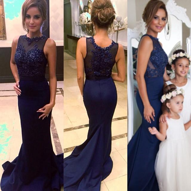 6b33d8373d Mermaid Sleevesless Prom Dresses Appliques Court Train Evening Gowns with  Beadings on Storenvy