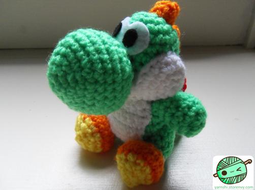 Yarnshi Yoshi Crochet Pattern Online Store Powered By Storenvy