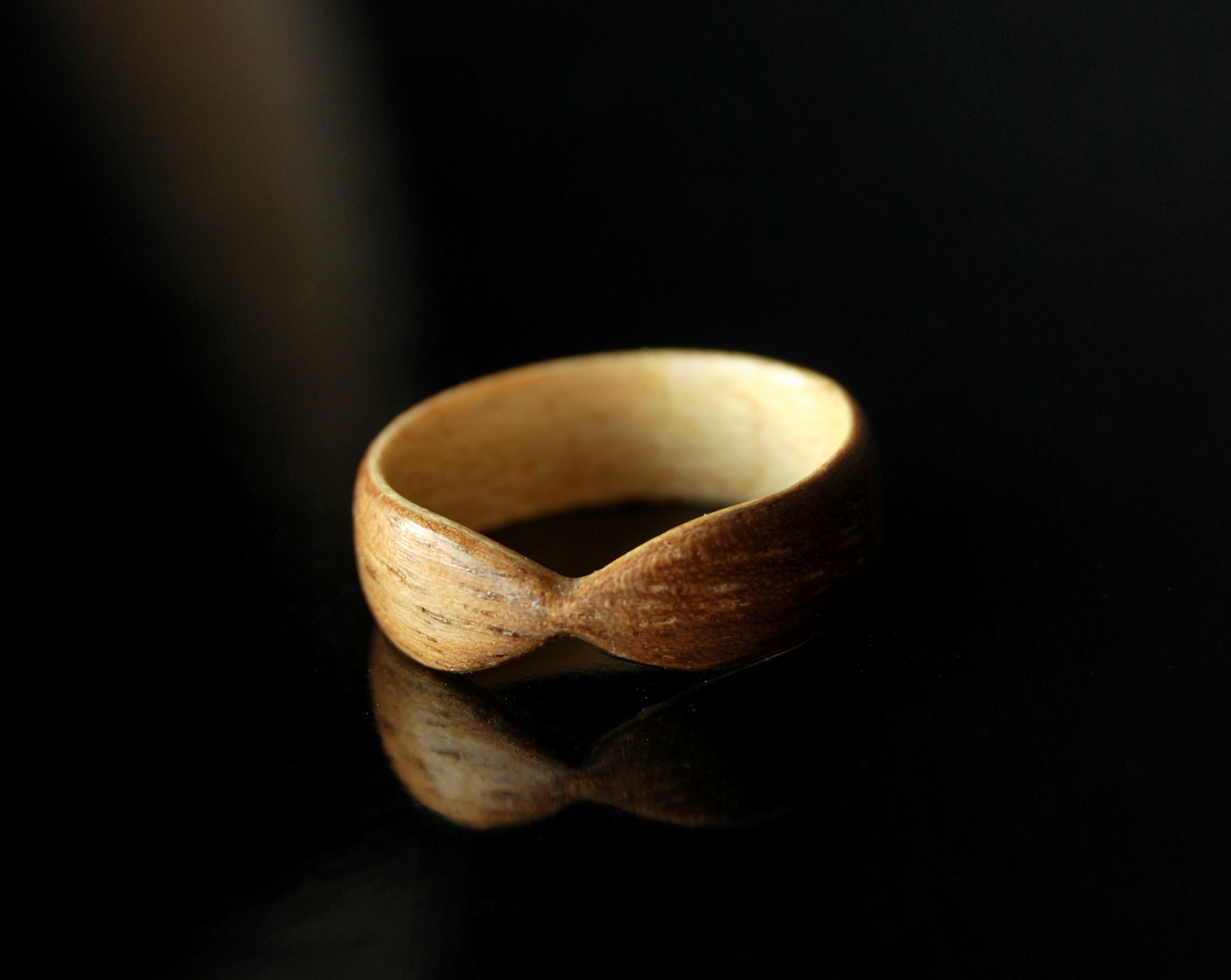 wedding lined img titanium minute black wood order custom ring rings maple ash burl last with