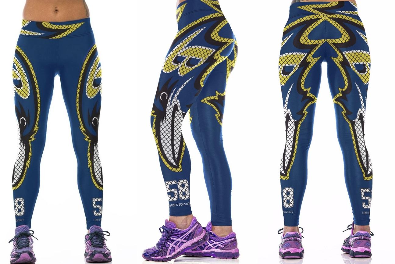 e51a775389992 Baltimore Ravens NFL Sexy Women Leggings Fitness Sports Gym ...