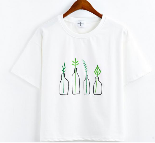 25a74e6635b97 Minimalist Plants Tee · moozoo · Online Store Powered by Storenvy