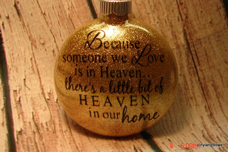 Because Someone We Love Is In Heaven Ornament On Storenvy