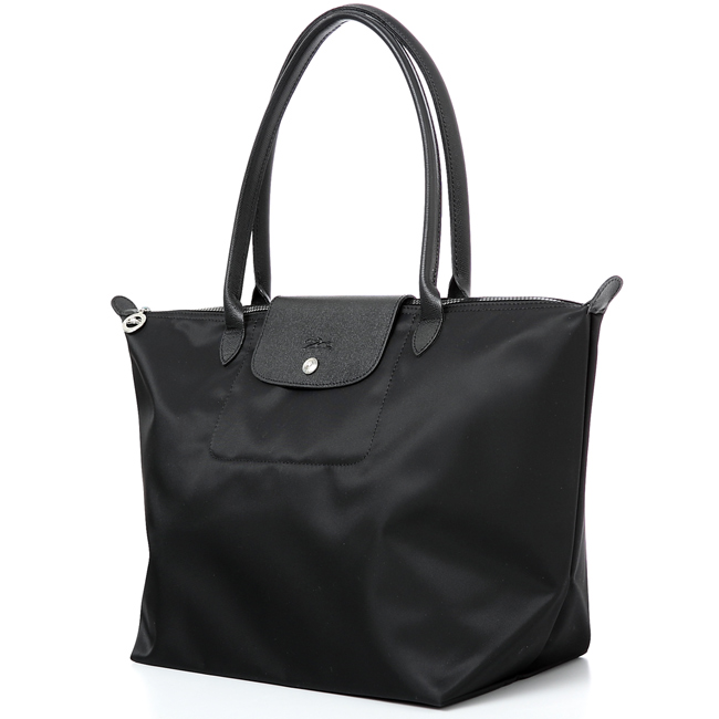 Authentic Longchamp Le Pliage Neo Large Tote Bag Black 1899578001 ... f2d987f51ac05