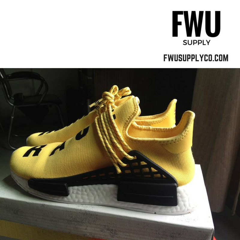 97c239d80 Authentic UA Adidas NMD Human Race- Yellow Black on Storenvy