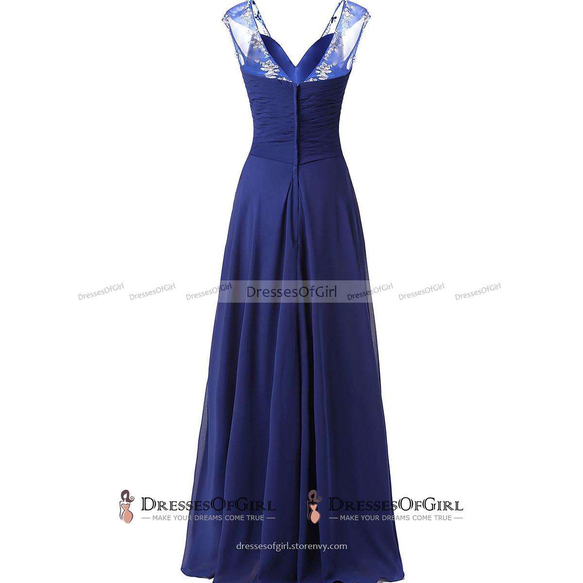 87d0f1338 Asymmetric A-line Long Prom Dress