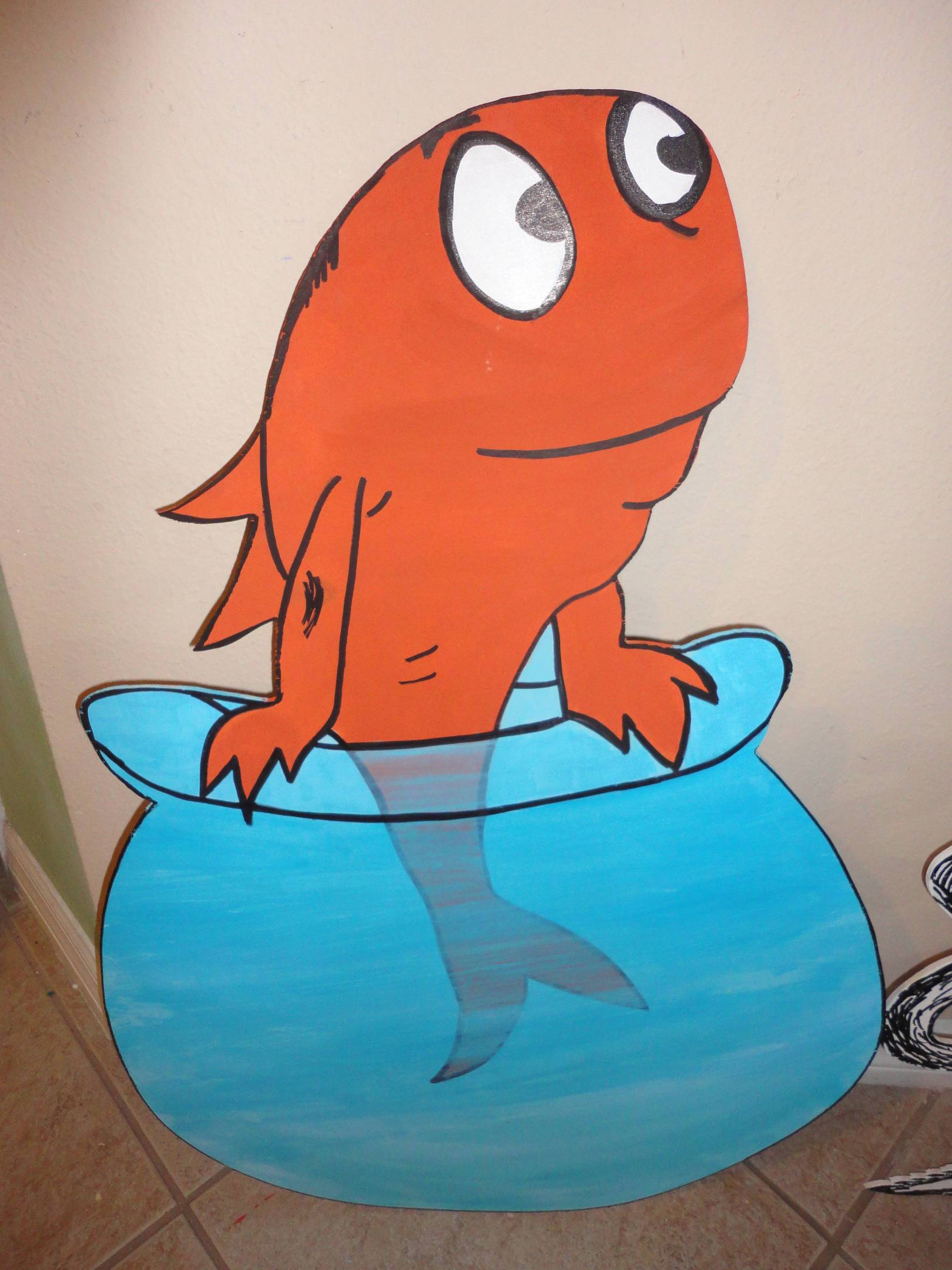 Thing 1 Thing 2 And One Fish Two Fish 3 Ft Photo Props
