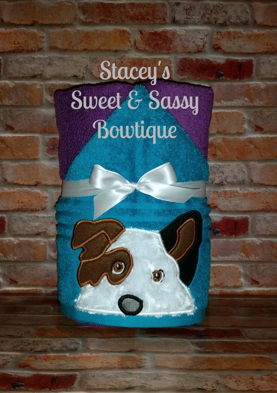 Dog With A Blog Stan Hooded Towel From Staceysnsbowtique