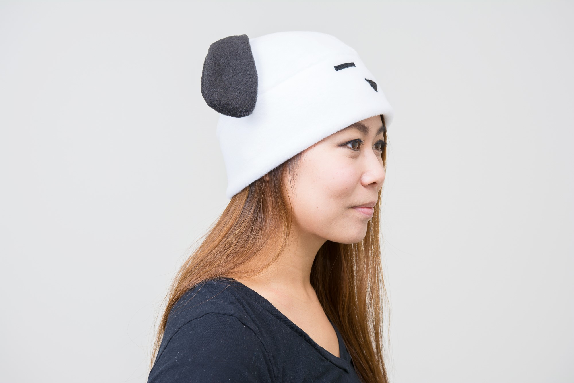 ... Beagle Fleece Dog Hat - Dog Hat - Dog Ears - Dog Fleece Ear Hat - 58988ab374d