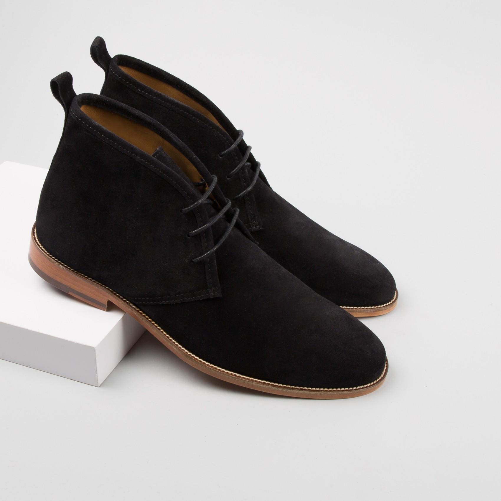 Mens Chukka Boots Black