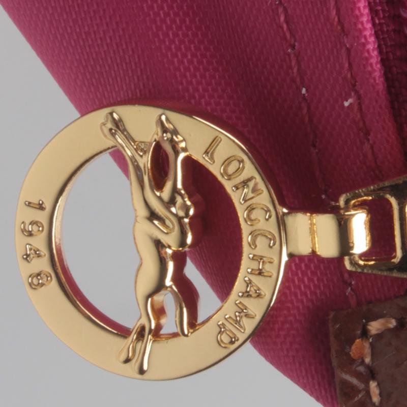 Authentic Longchamp Le Pliage Nylon Large Tote Bag Fuchsia ... 91a491c54d80c