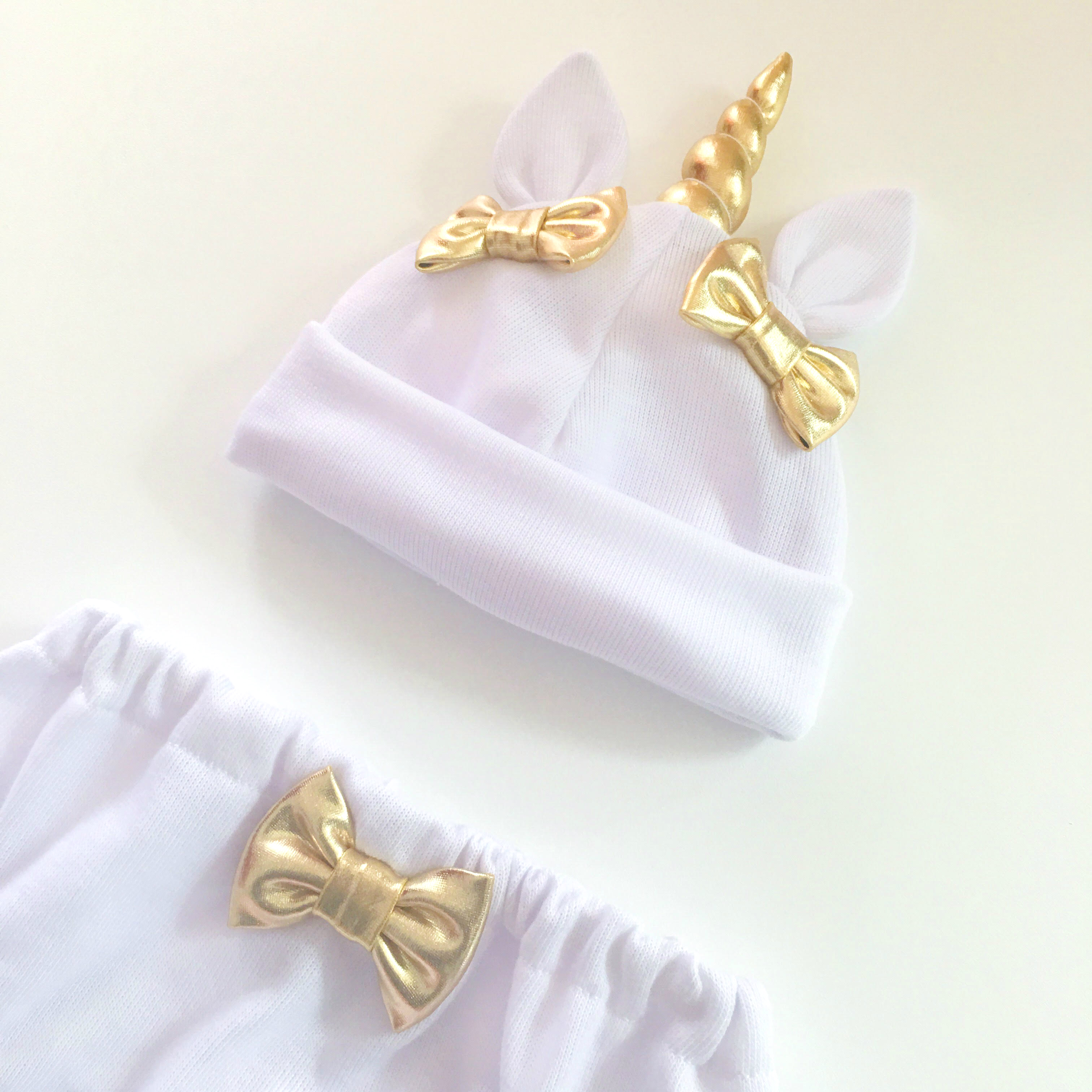 da9f08f65d0 Unicorn Hat   Bloomers Set - White - Thumbnail ...