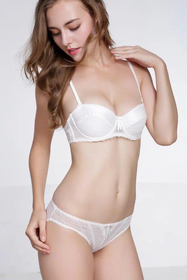 f9a1d797be6 3Colors Women s Girls Sexy Bra Sets Lingerie Underwear Push-Up ...