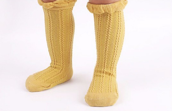 de1c81ef823 Baby Toddler Mustard Yellow Knee High Socks on Storenvy