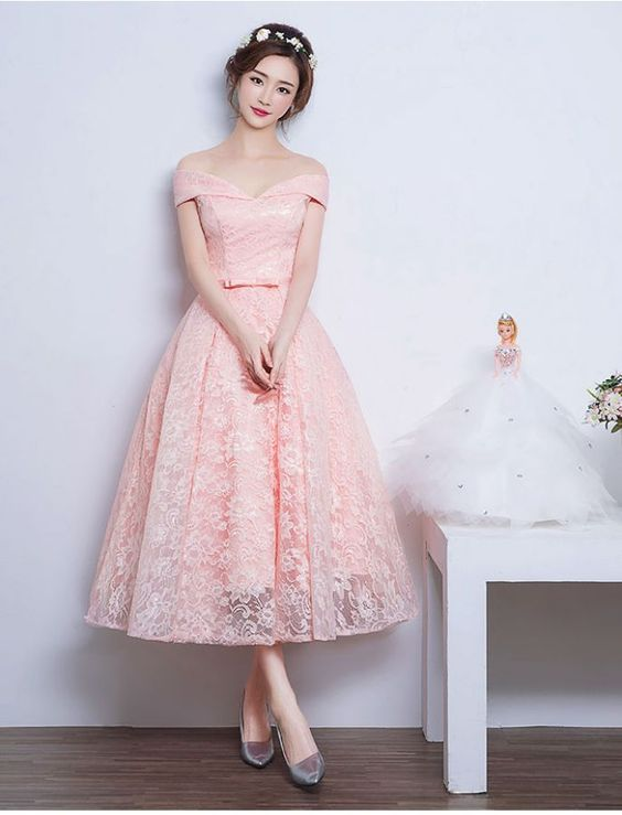 New Fashion Prom Dresses With Lace Prom Dress 1950s Audrey Hepburn ...