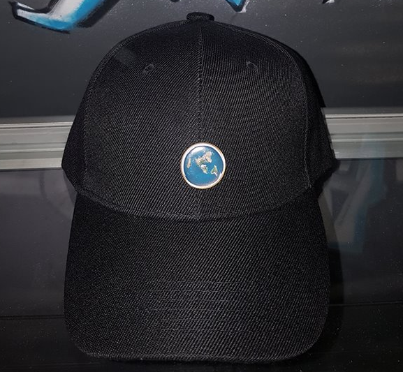 Limited Edition Flat Earth Hat Pin + Structured Dad Cap Combo - 1 out of  200 (Random Serial  ) on Storenvy e8914633396