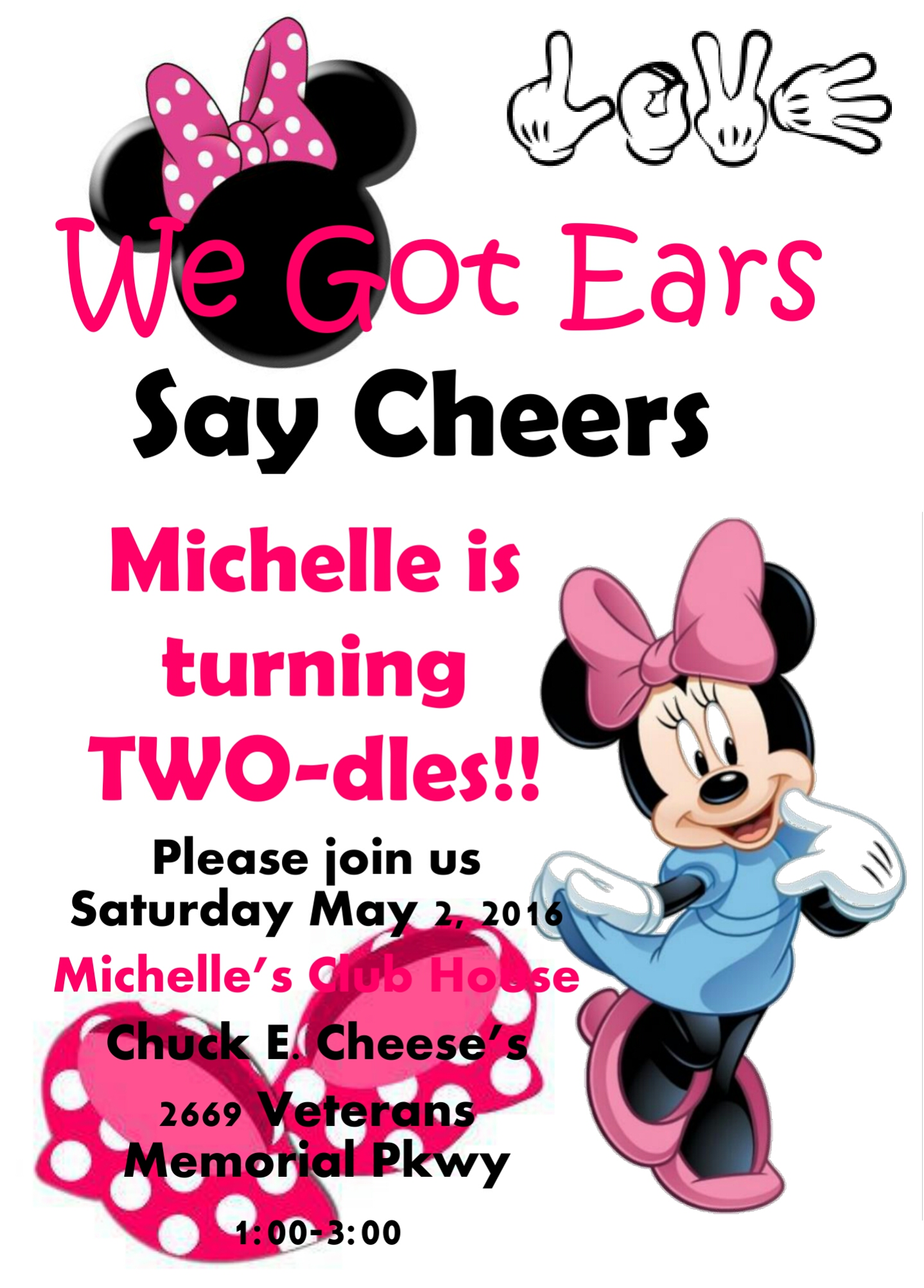 Minnie Mouse 2nd Birthday Party Invitations On Storenvy
