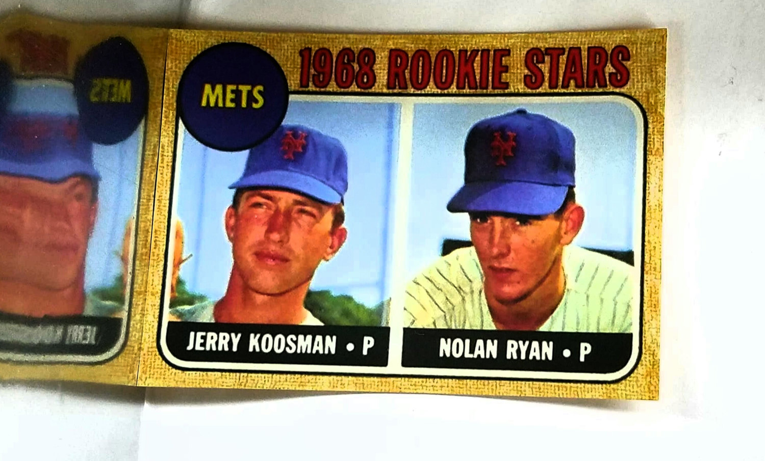 1968 Topps Nolan Ryan Rookie Card 177 Mets Rc Read From Cardboard Coins