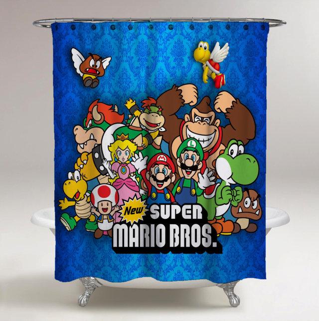 Super Mario Bros All Character New Custom Design 20 Original