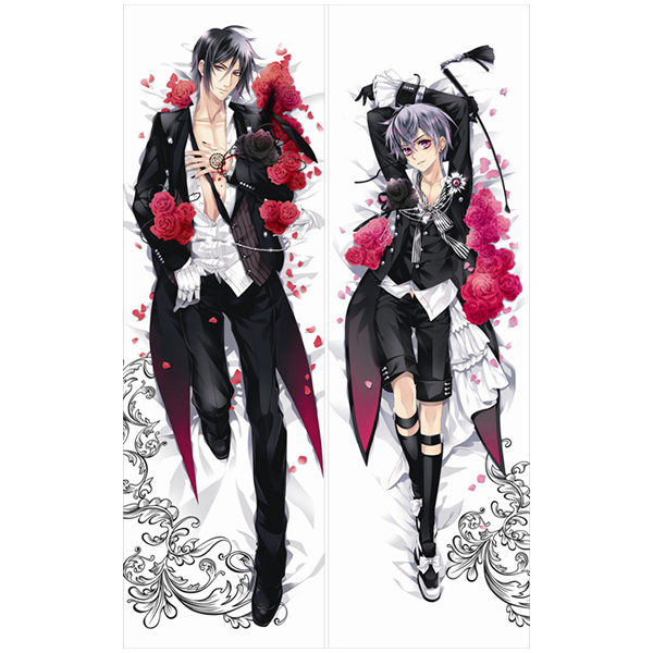 Body Pillow Black Butler Sebastian Michaelis Male