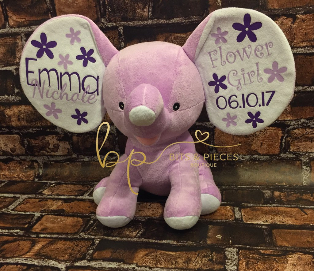 Cubbies Personalized Stuffed Animal Wedding Party Gifts Ring