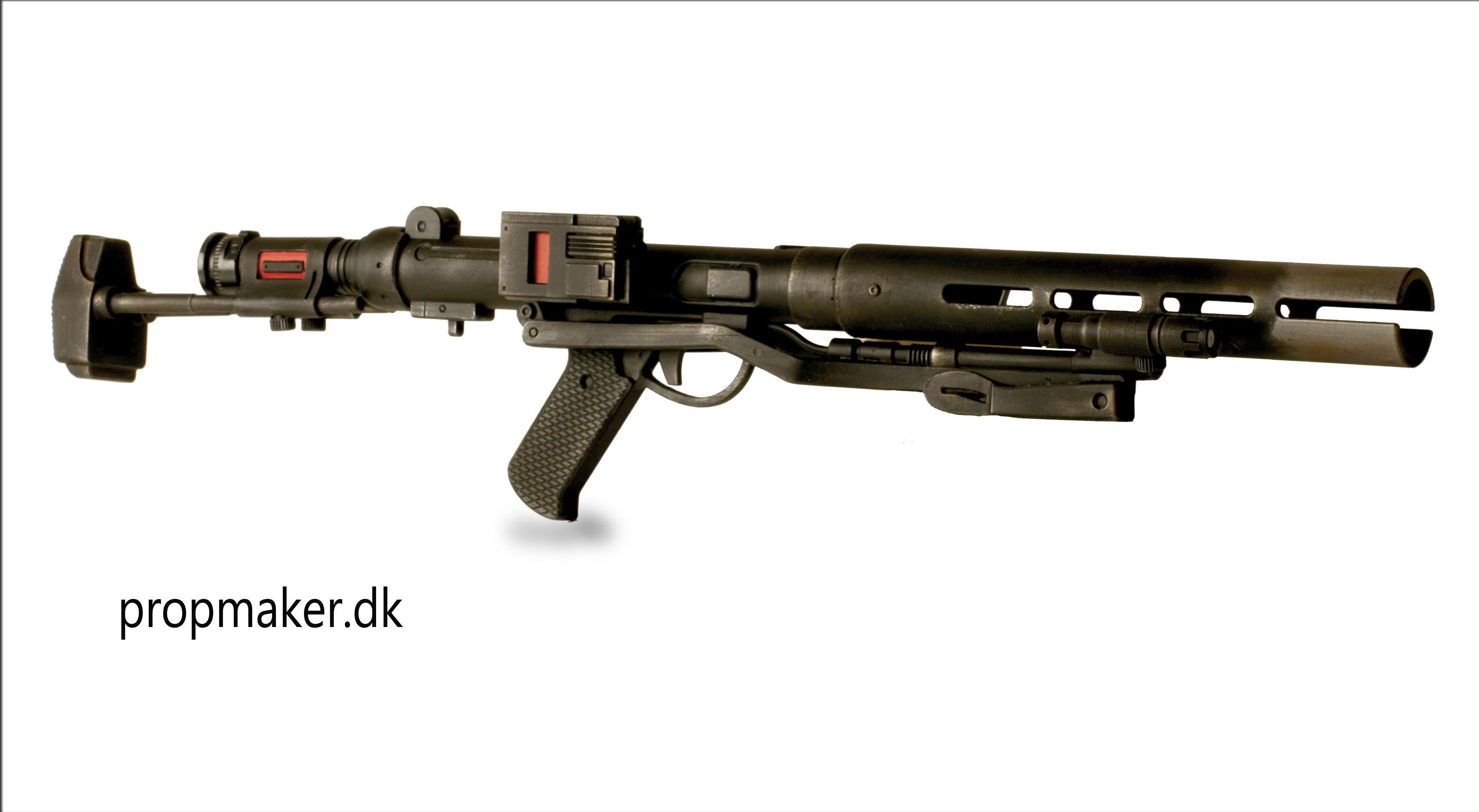 Star Wars F-11D Blaster Rifle Sound Effect - YouTube