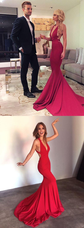 222dd65b83 Sexy Red Prom Evening Dress